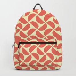 HALF-CIRCLES, CORAL Backpack