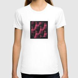 Pink Guitar Jumble T-shirt