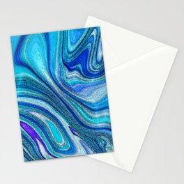 Elegant Paua Inspired Rainbow Abalone Shell Stationery Cards