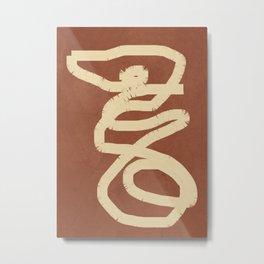 Abstract Lines III Metal Print