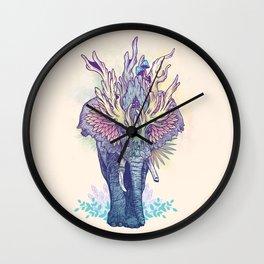Spirit Animal - Elephant Wall Clock