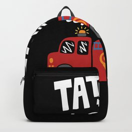5th birthday fire department for children Backpack