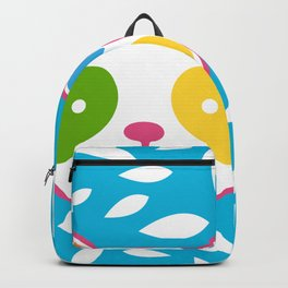 Rainbow Panda Backpack