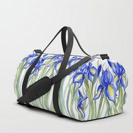 Blue Iris, Illustration Sporttaschen