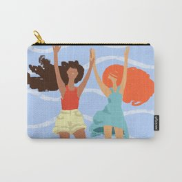 Series: Oil Paint Smears. Summer, sea, friendship. Carry-All Pouch