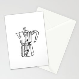 Fish in the percolator Stationery Cards