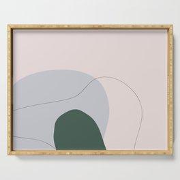 Modern Art Flora B Serving Tray