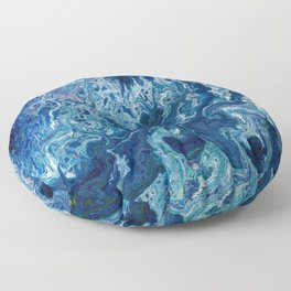 Blueberry Ripple Floor Pillow