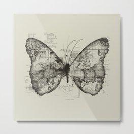 Butterfly Effect Metal Print