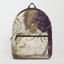 Tuscan Table Merlot Backpack