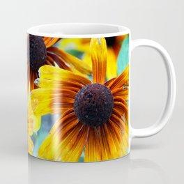 Sunflower Flame Coffee Mug