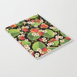 Strawberries Botanical Notebook