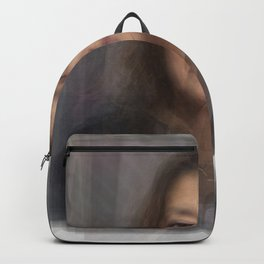 Zaha Hadid Portrait Overlay Backpack