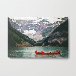 Kayak Canada Metal Print