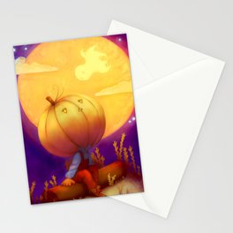 Peter Pumpkin Head Stationery Cards