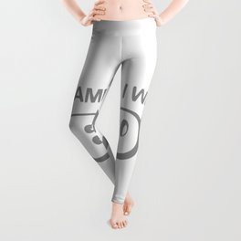 DON'T BLAME ME I WAS BORN AWESOME Leggings