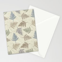 fern leaves pattern Stationery Cards