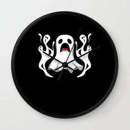 Ghost Hunt Ghostbusters Halloween Ghost Wall Clock