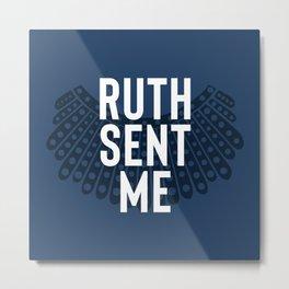 Ruth Sent Me - Indigo Edition Metal Print