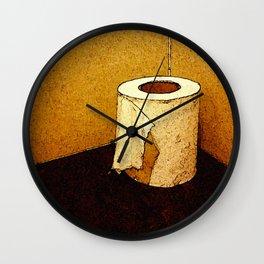 Paper Roll Wall Clock