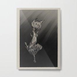 Descending Metal Print