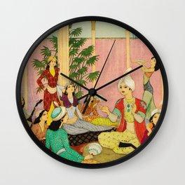 King Agib by Rudolf Koivu Wall Clock