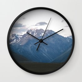 Southern Alps Wall Clock