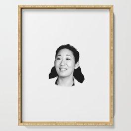 Cristina Yang Serving Tray