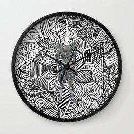 Heroes Fashion 5 Wall Clock