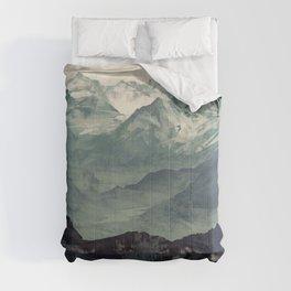 Mountain Fog Comforters