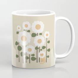 Cat and plant: Catmouflage Coffee Mug
