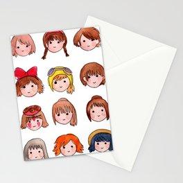 Studio Ghibli Girls Stationery Cards