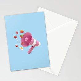Spreading sweetness Stationery Cards