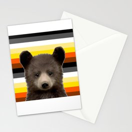 Bear Cub for nature lovers  Stationery Cards