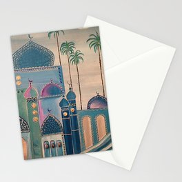 old city Stationery Cards