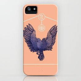Hugin & Munin iPhone Case