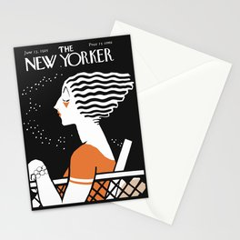 Vintage Magazine Cover, 1925 Artwork Reproduction Stationery Cards