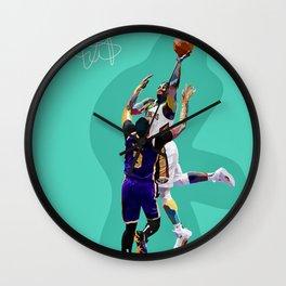 ZION - W. PELICANS Basketball Star Wall Clock