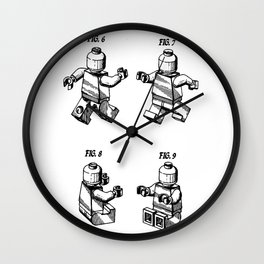 Le-go Man Wall Clock