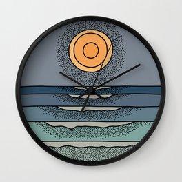 Sun Goes Down #2 Wall Clock
