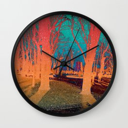 Sanctity in the Trees Wall Clock