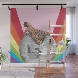 Disco Lounging Wall Mural