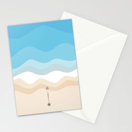 Under The Umbrella  Stationery Cards