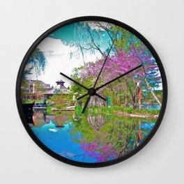 A Blur of Colour Wall Clock