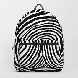 Circles B&W Backpack