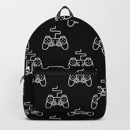 Video Game Gamepad Pattern Backpack