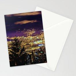 Medellin Night Moves Stationery Cards