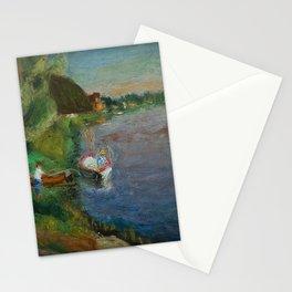 Côte d'Azur Coastal Landscape from Dordogne, France by Henryk Hayden Stationery Cards