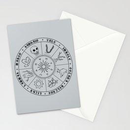 Pagan Calendar Line Stationery Cards