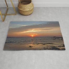 Watercolor Sunset, Janes Island 09, Maryland Rug